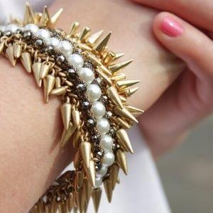 :: Stella & Dot Pearl Spiked Jacinthe Bracelet